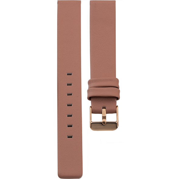 189 / Dark Pink / Rose Gold Buckle