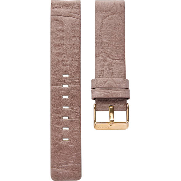 027 / Pink / Rose Gold Buckle