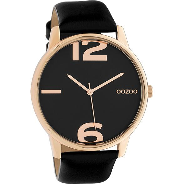 C10374 / 45mm / Black / Rose Gold