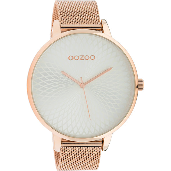 C10552 / 48mm / Rose Gold / White