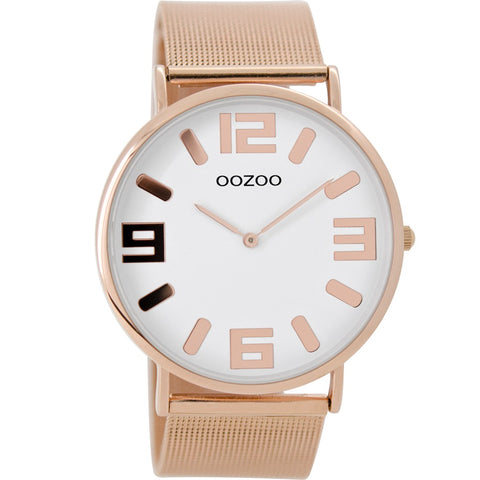 C8882 / 42mm / Rose Gold Mesh