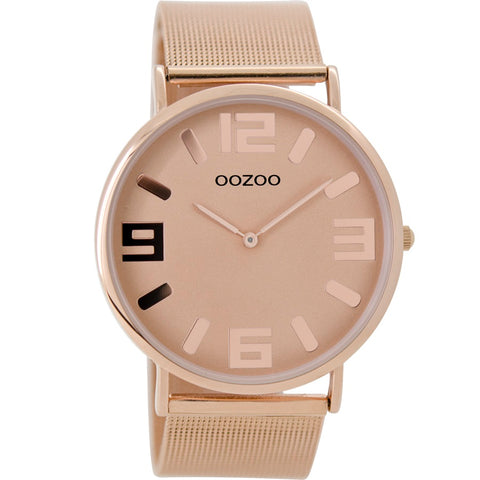 C8883 / 42mm / Rose Gold Mesh