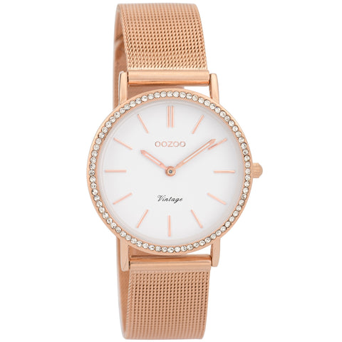 C9328 / 32mm / Rose Gold Mesh