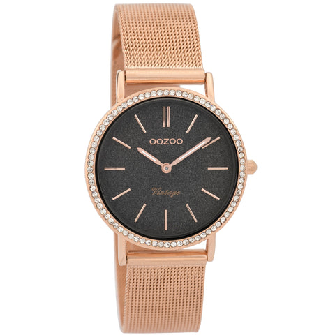 C9329 / 32mm / Rose Gold Mesh