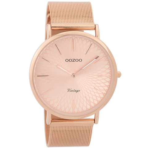 C9343 / 40mm / Rose Gold Mesh