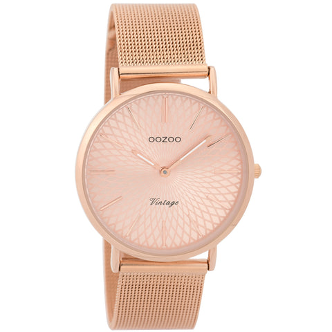 C9344 / 36mm / Rose Gold Mesh