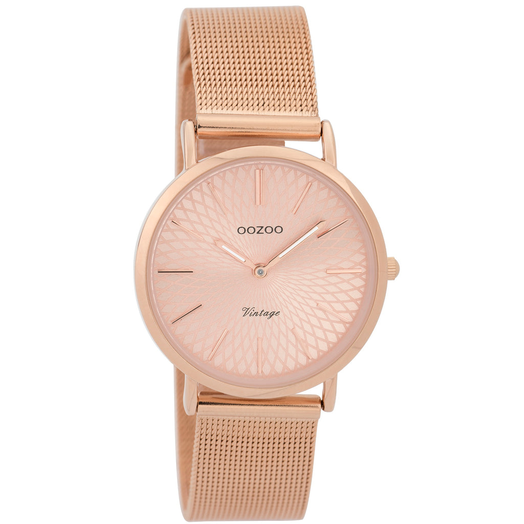 C9345 / 32mm / Rose Gold Mesh