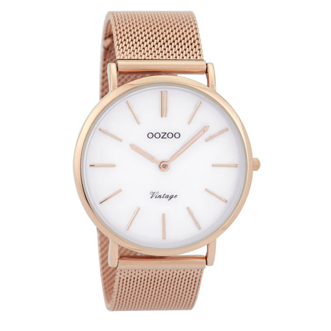 C9364 / 40mm / Rose Gold Mesh