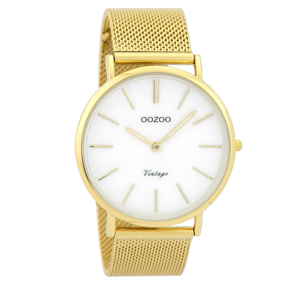 C9366 / 40mm / Yellow Gold Mesh