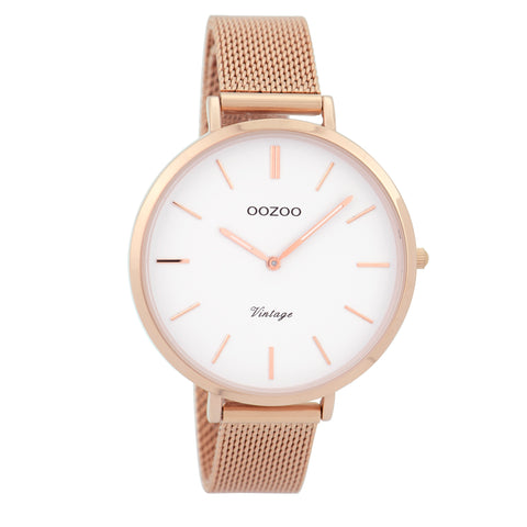 C9372 / 40mm / Rose Gold Mesh