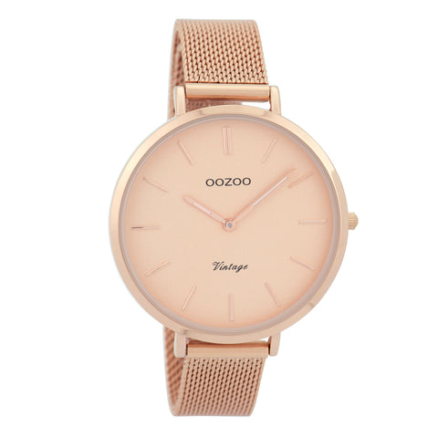 C9373 / 40mm / Rose Gold Mesh