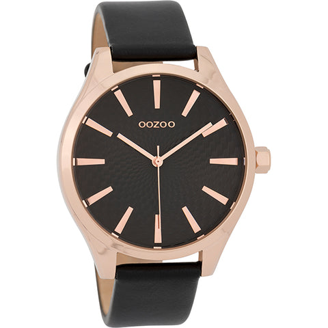 C9689 / 42mm / Rose Gold / Black
