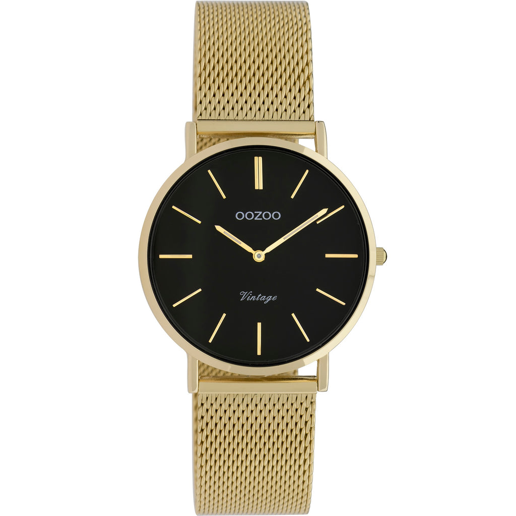 C9915 / 32mm / Yellow Gold Mesh