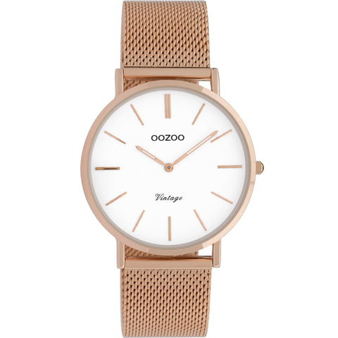 C9918 / 36mm / Rose Gold Mesh