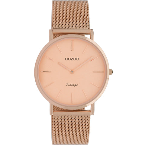 C9921 / 40mm / Rose Gold Mesh