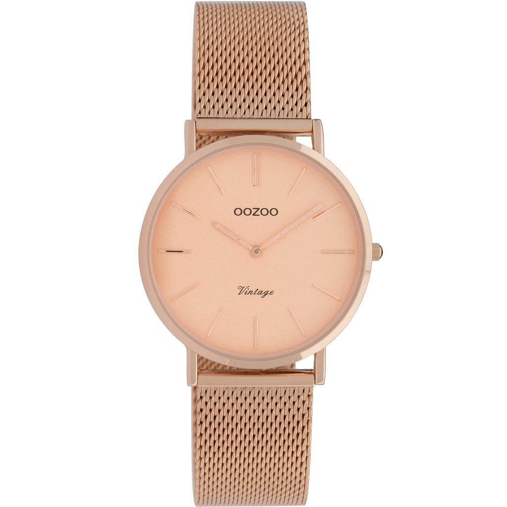C9923 / 32mm / Rose Gold Mesh