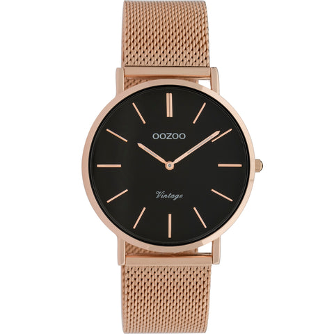 C9926 / 36mm / Rose Gold Mesh