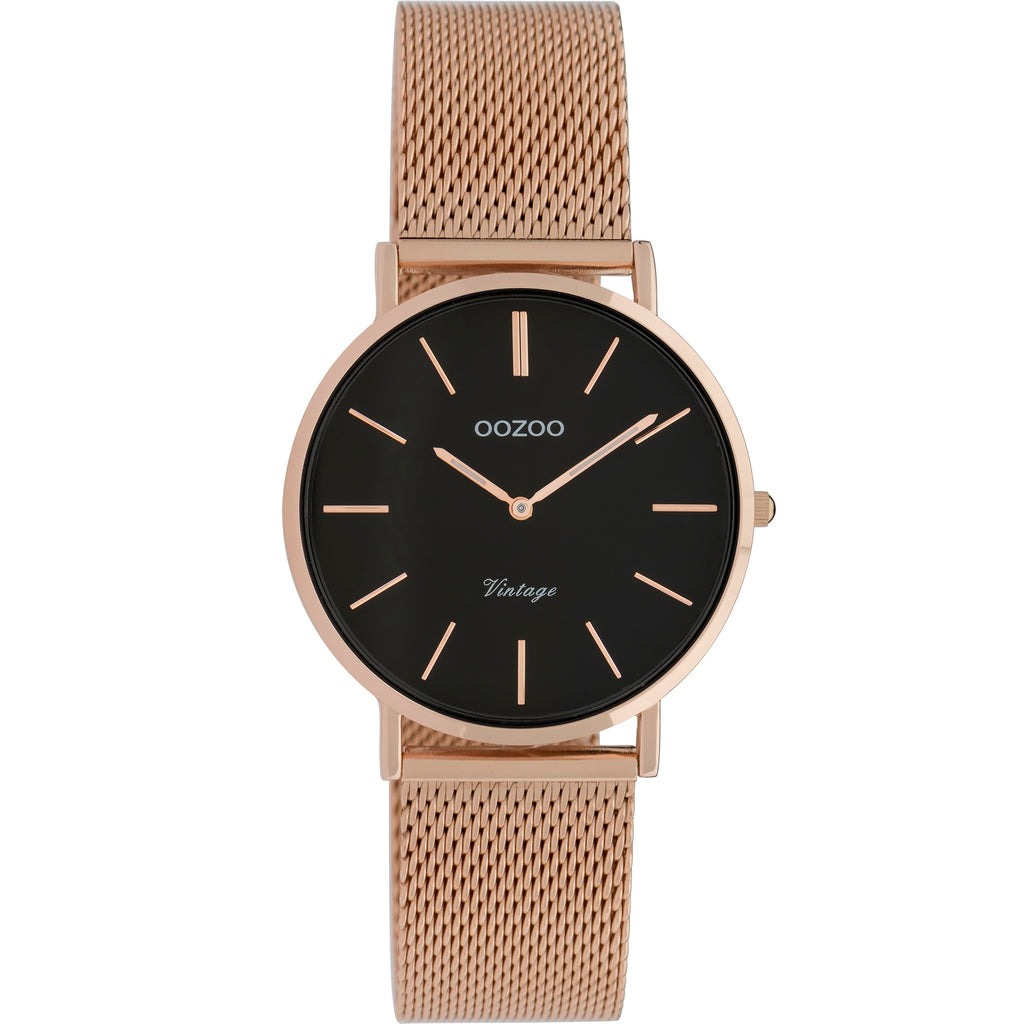 C9927 / 32mm / Rose Gold Mesh