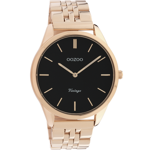 C9989 / 40mm / Rose Gold Metal