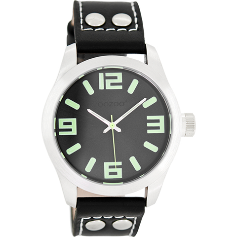 JR269 / 40mm / Black / Lumi Green