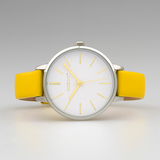 JR312 / 34mm / Mustard / White