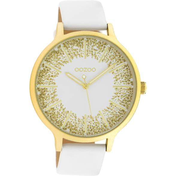 C10566 / 44mm / White / Gold