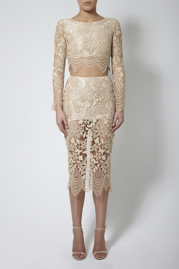 Mika Lace Skirt