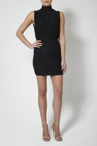 Eve Ruched Slinky Dress