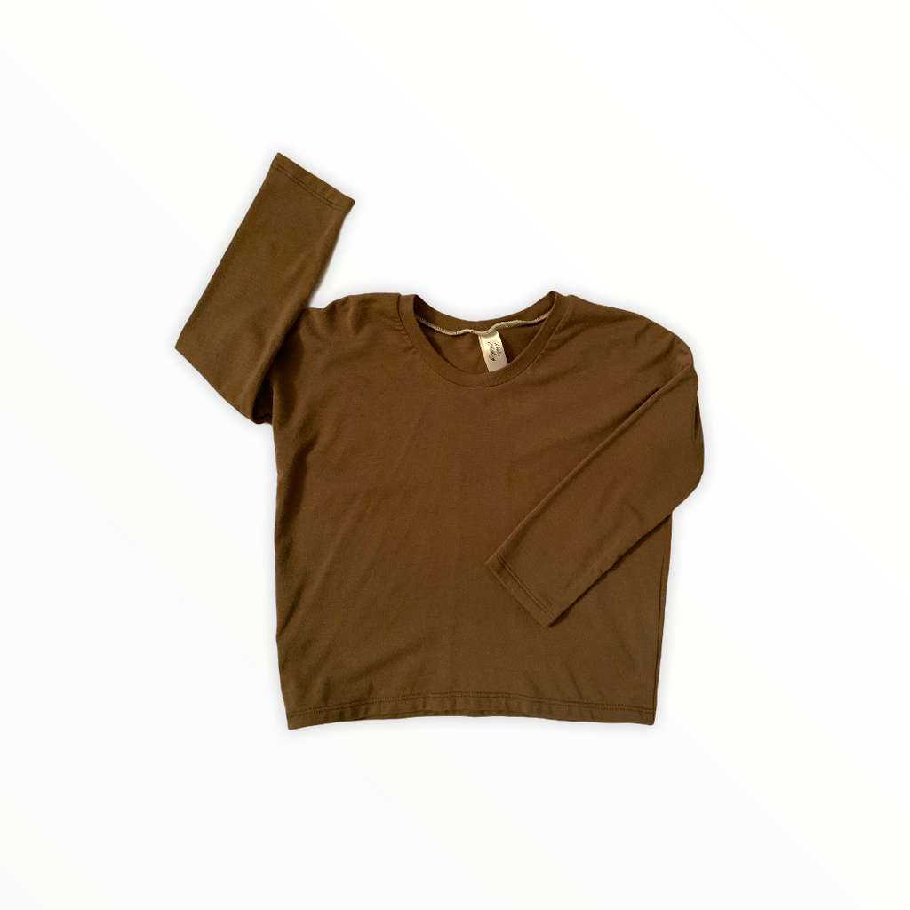 Khaki Long Sleeve T