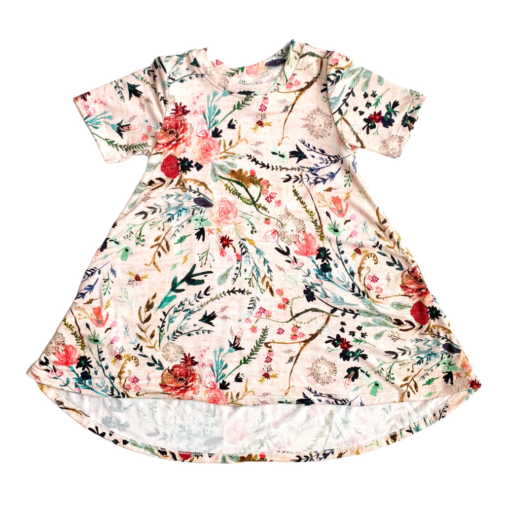 Fable Floral - Bamboo Dress