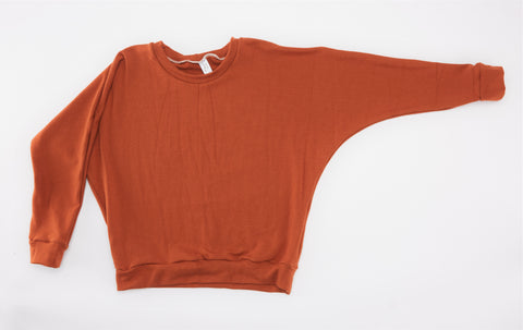 Jamie Sweater - Rust