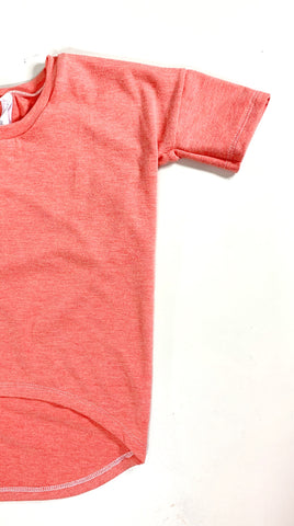 Peach Bamboo hi/low T-Shirt