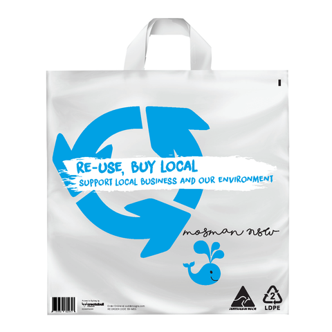 100x Localised Multi Use Bag - Mosman, NSW