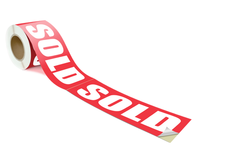 SOLD - 20 labels per roll 155x450mm - FXR155450S
