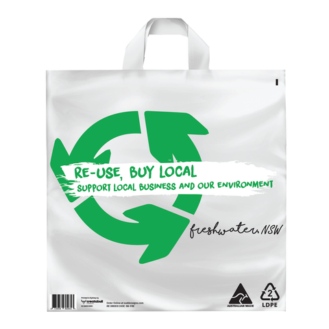 100x Localised Multi Use Bag - Freshwater, NSW