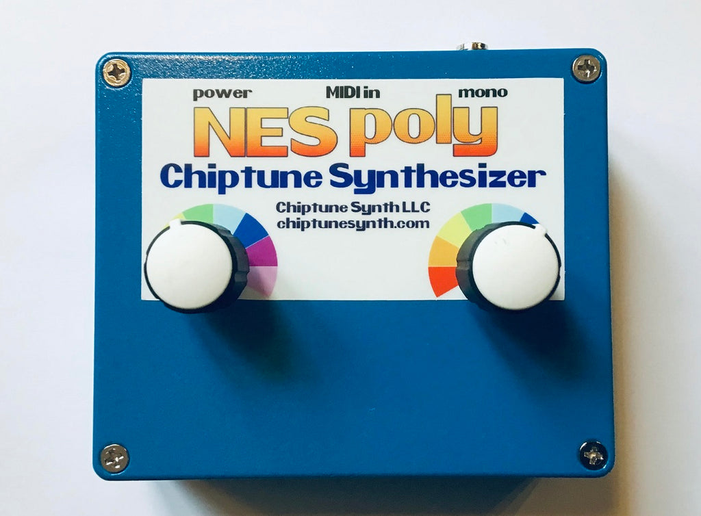 Arcano NES Poly Chiptune Synthesizer (blue)