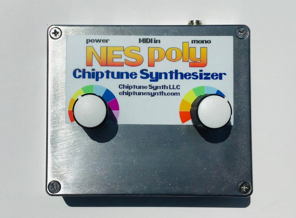 Arcano NES Poly Chiptune Synthesizer (unpainted)