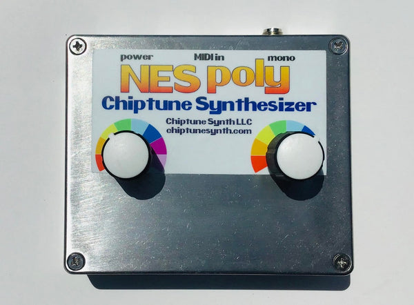 Arcano NES Poly Chiptune Synthesizer (brushed aluminum)