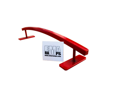 EMA Ramps Fingerboard Arch Rail