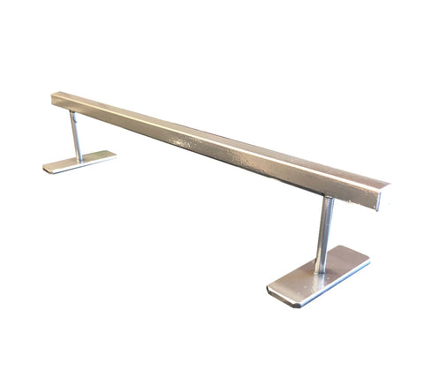 "EMA Ramps Fingerboard 2"" High Flat Rail (Chrome)"
