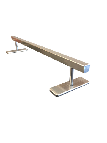 EMA Ramps Fingerboard Flat Rail (Chrome)