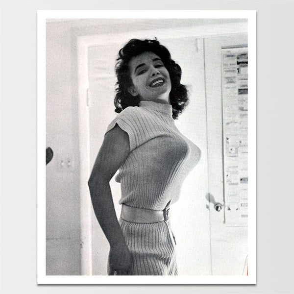 "Sale! 6X8"" Vintage 1950's Pinup BRA Model Print *REMASTERED*"