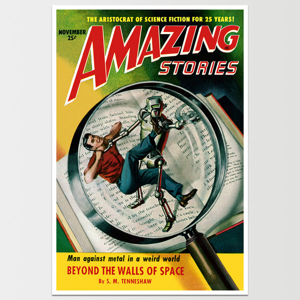 "Amazing Stories: Beyond The Walls Art Print 12X18"" *REMASTERED*"