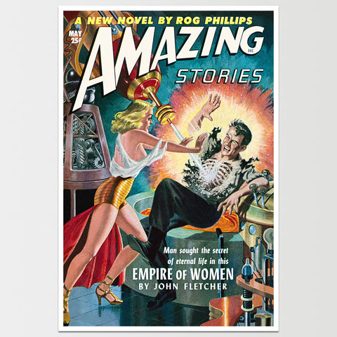 Amazing Stories: Empire of Women Art Print *REMASTERED*