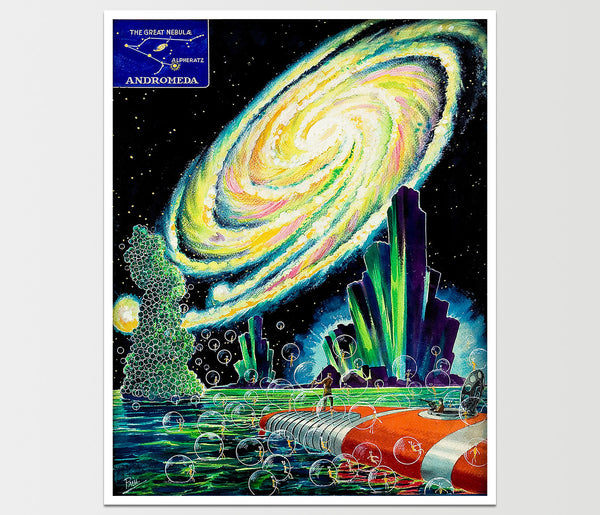 Amazing Stories: Galaxy Art Print *REMASTERED*