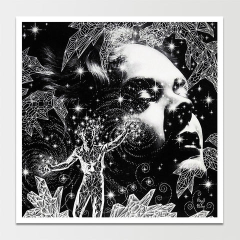 Astral Projection' Virgil Finlay Art Print *REMASTERED*