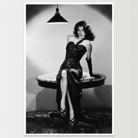 "Ava Gardner ""The Killers"" Movie Print *REMASTERED*"