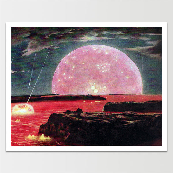 "Sale! 6X8"" Early Earth Print *REMASTERED*"