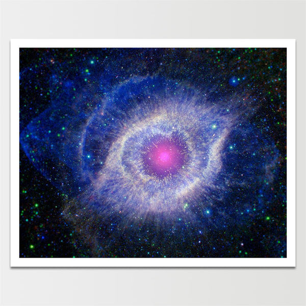 "Sale! 6X8"" Purple Nebula *REMASTERED*"