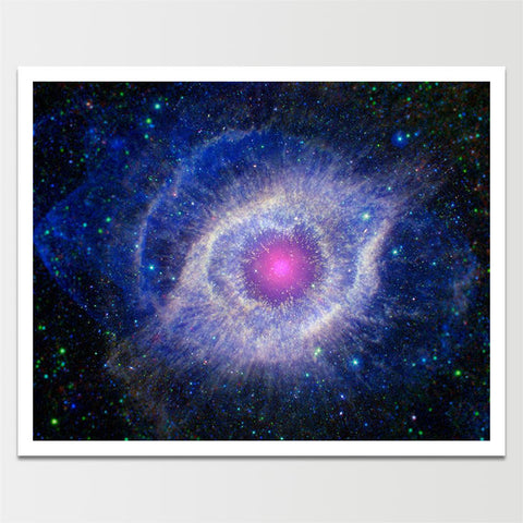 Cat's Eye Nebula in Space *REMASTERED*